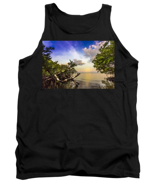 Water Sky Tank Top by Marvin Spates