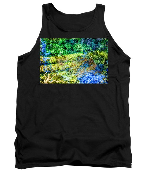 Water Tree Reflections Tank Top