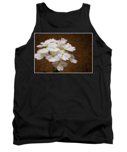Watercolor Of Daisies Tank Top