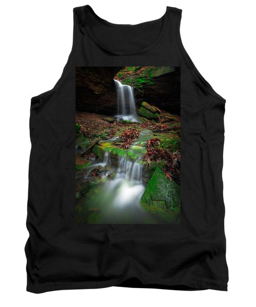 Frankfort Mineral Springs Waterfall  Tank Top