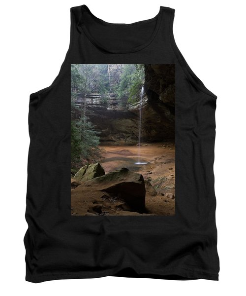 Waterfall At Ash Cave Tank Top