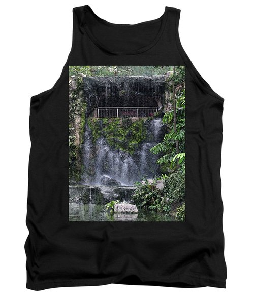 Waterfall Tank Top by Sergey Lukashin