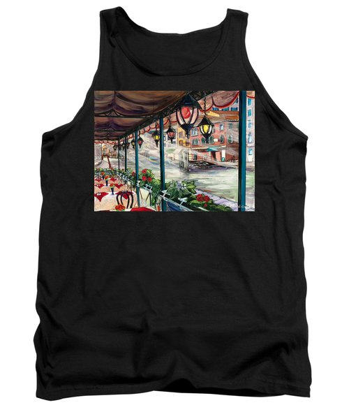 Waterfront Cafe Tank Top