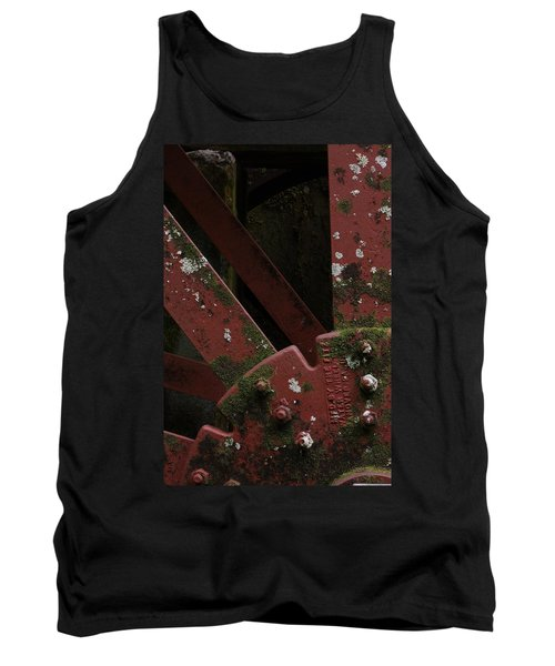 Waterwheel Up Close Tank Top