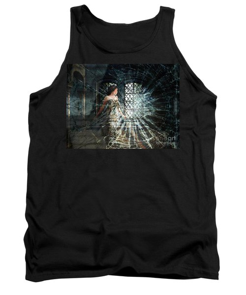We Are Glass Tank Top by Lianne Schneider