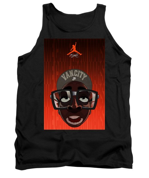 Tank Top featuring the drawing We Came From Mars by Nelson Dedos  Garcia