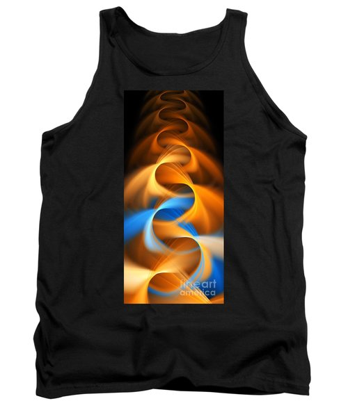 Weaving Color  Tank Top