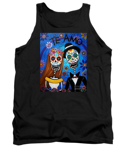 Wedding Couple  Tank Top