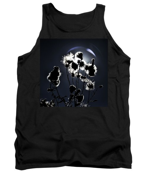 Weed Silhouette Tank Top