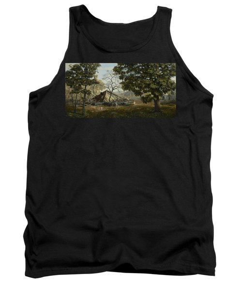 Welcome Home Tank Top by Duane R Probus