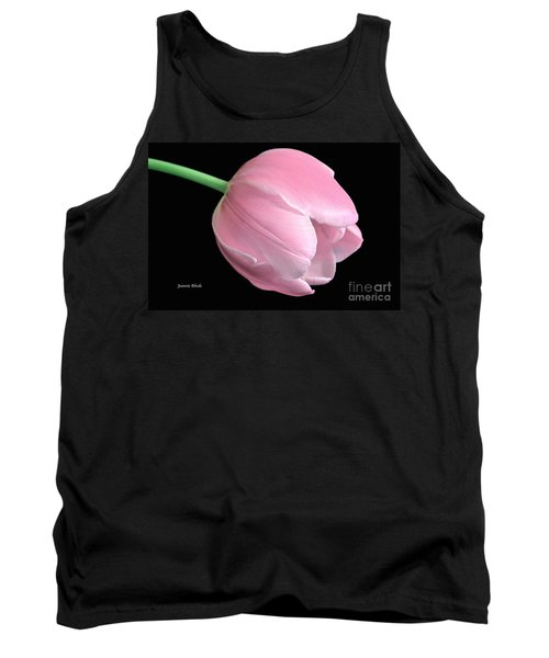 Welcome Spring In Pink Tank Top by Jeannie Rhode