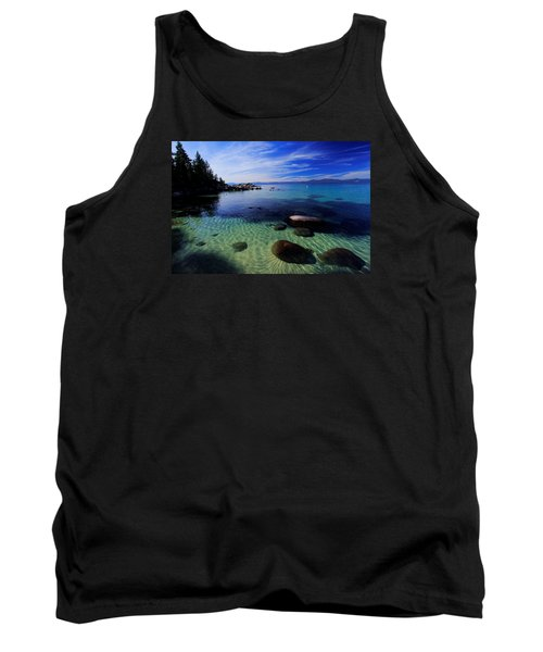 Tank Top featuring the photograph Welcome To Bliss Beach by Sean Sarsfield