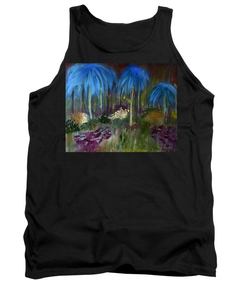 Welcome To The Jungle Tank Top by Dick Bourgault