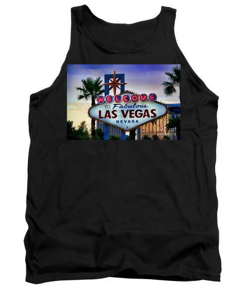 Welcome To Your Best Vacation Tank Top by Mariola Bitner