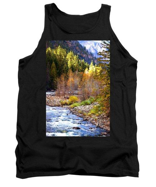 Wenatchee River - Leavenworth - Washington Tank Top