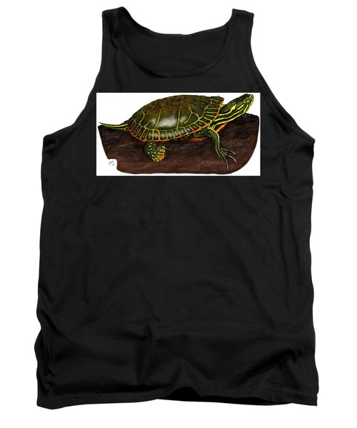 Western Painted Turtle Tank Top