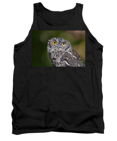 Western Screech Owl No. 3 Tank Top