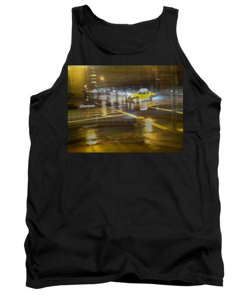 Tank Top featuring the photograph Wet Pavement by Alex Lapidus
