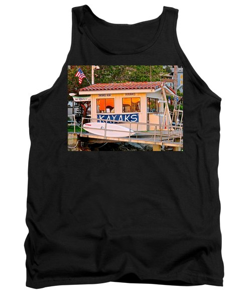 Wetspot Kayak Shack Tank Top