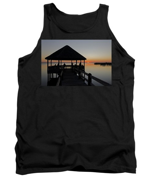 Tank Top featuring the photograph Whalehead Sunset Obx by Greg Reed