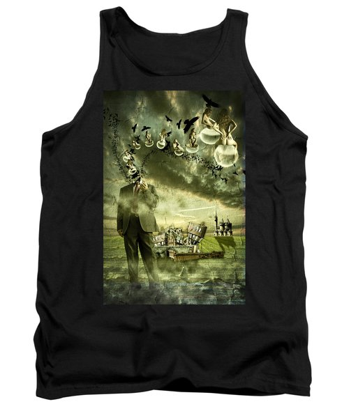 What Are You Thinking Tank Top by Nathan Wright
