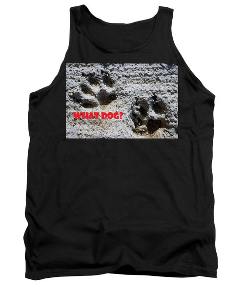 What Dog Tank Top