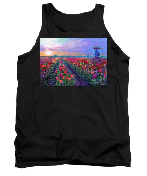 Tulip Fields, What Dreams May Come Tank Top