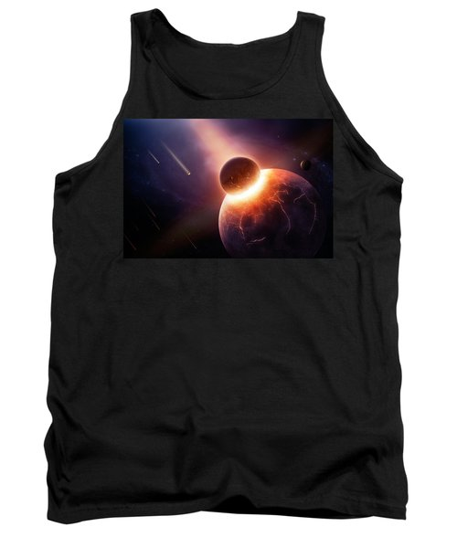 When Planets Collide Tank Top