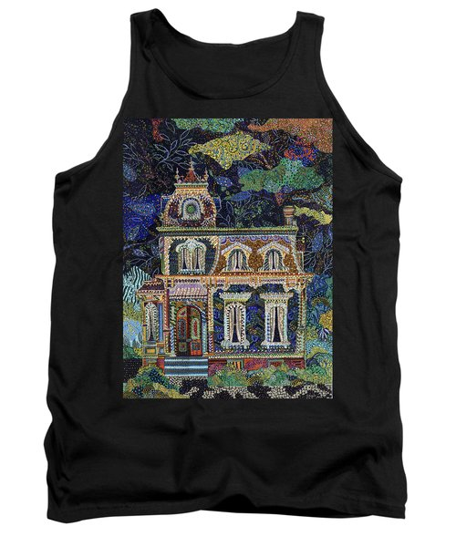 When The Lights Go Out Tank Top by Erika Pochybova