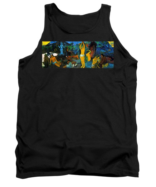Where Do We Come From. What Are We Doing. Where Are We Going Tank Top by Paul Gauguin