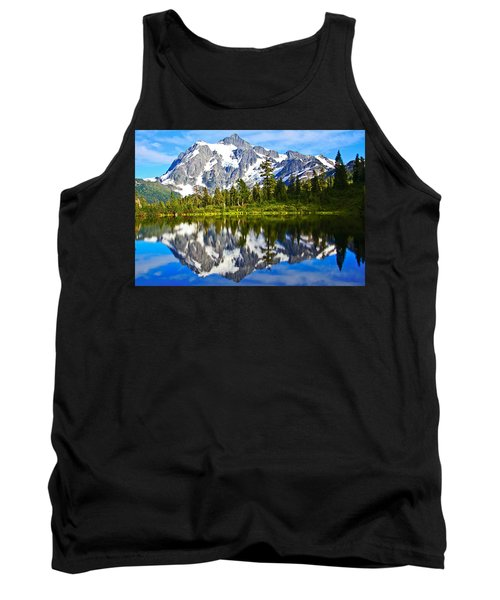 Tank Top featuring the photograph Where Is Up And Where Is Down by Eti Reid