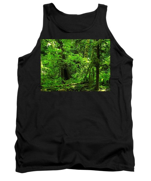 Where The Forest People Live Revised Tank Top