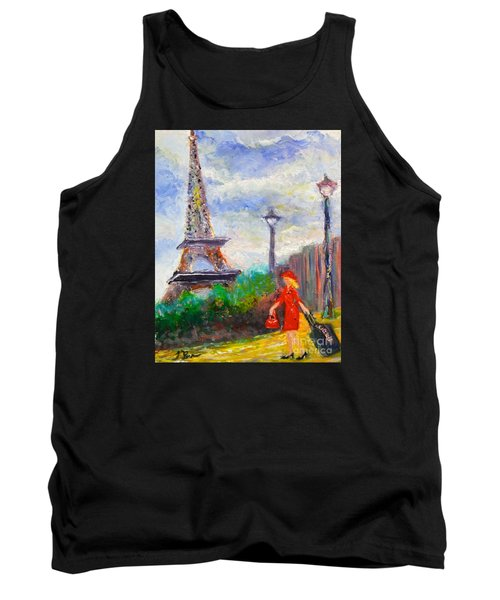 Where To .... Paris  Tank Top