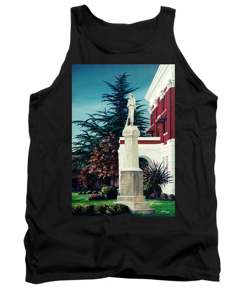 White County Courthouse - Civil War Memorial Tank Top