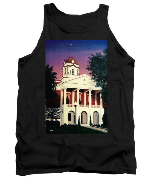 White County Courthouse Tank Top
