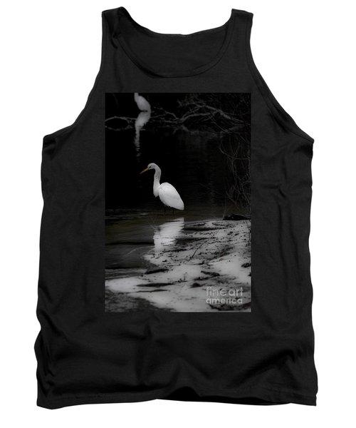 White Heron Tank Top
