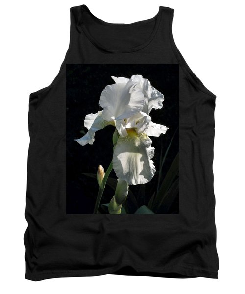 White Iris In The Morning Tank Top