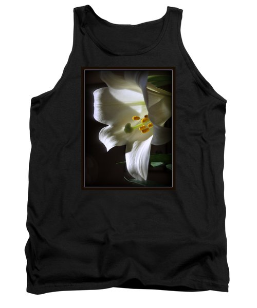 White Lily Tank Top by Kay Novy