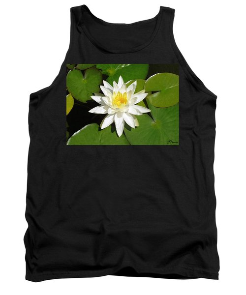 White Lotus 1 Tank Top
