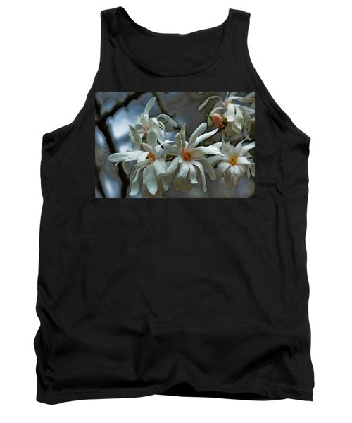 Tank Top featuring the photograph White Magnolia by Rowana Ray