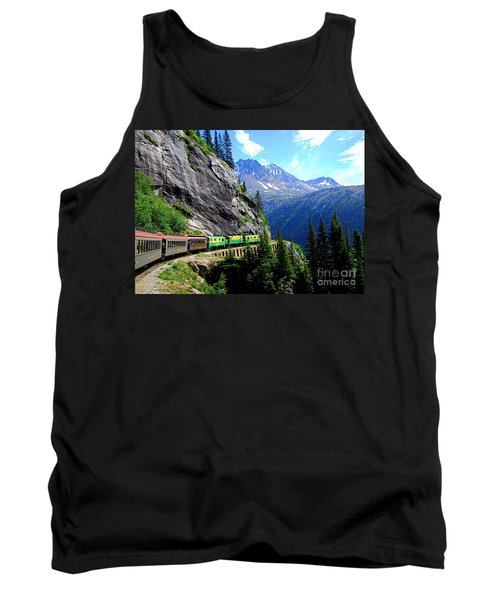 White Pass And Yukon Route Railway In Canada Tank Top by Catherine Sherman