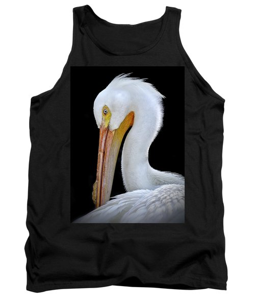 White Pelican Tank Top