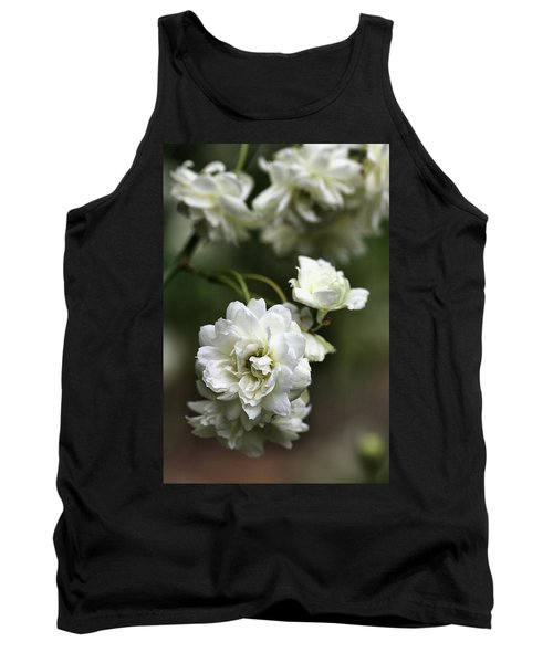 Tank Top featuring the photograph White Roses by Joy Watson