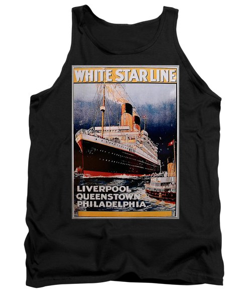 White Star Line Poster 1 Tank Top