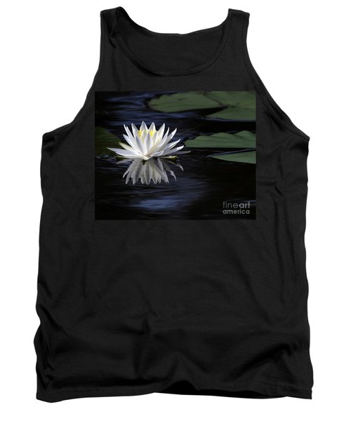 White Water Lily Left Tank Top