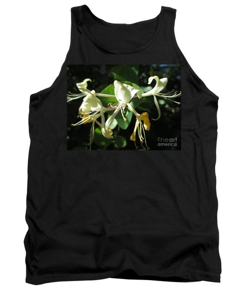 Wild Honeysuckle Tank Top by Martin Howard