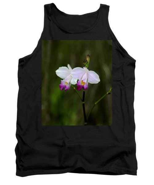Wild Orchid Tank Top by Pamela Walton