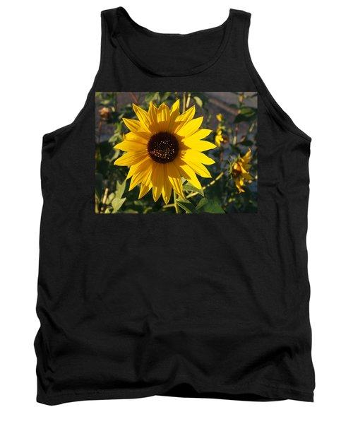 Wild Sunflower Tank Top by Nadja Rider
