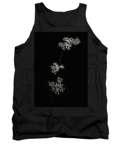 Wildflower In Black Tank Top