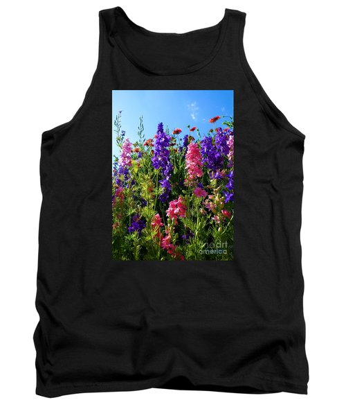 Wildflowers #14 Tank Top by Robert ONeil